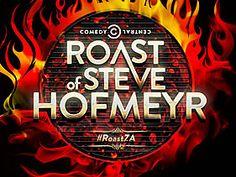Comedy Central Africa - Roast of Steve Hofmeyr Comedy Central, Roast, African, Neon Signs, Entertaining, Carne Asada, Baking