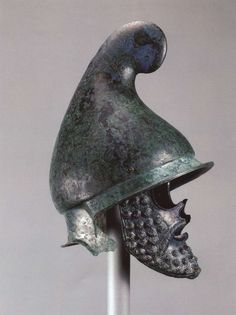 Helmet in the shape of the phrygian cap Thrace 4 B.C.[1280x1712]