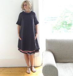 13threads: Black Voile and Silk