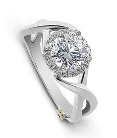 Aura Engagement Ring - Mark Schneider Design