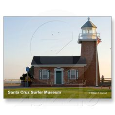 Santa Cruz Surfer Museum California Products Postcards from the Cheshire Cat Photo Store on Zazzle.com