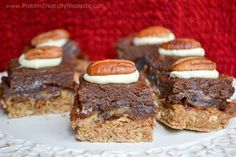 Protein Treats By Nicolette : Quest Bar Turtle Candy Squares @questnutrition #questmas