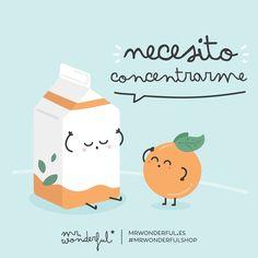 ¿Quién necesita una dosis de concentración extra los lunes? #mrwonderful #quote #monday