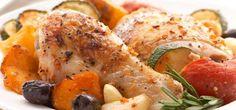 Sandra Lee Tuscan Roast Chicken- Tuscan Roasted Chicken