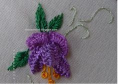 This and that...my random thoughts: Brazilian Embroidery