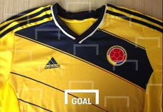 New Colombian Soccer Jersey