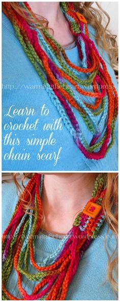 This Scarf Is So Easy To Make All You Need To Know Is How To Do A