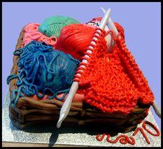 Happyhills Cakes - creative indulgent handmade childrens kids hobbies cakes West Kilbride Ayrshire Scotland - Happyhills Cakes - creative in. Gorgeous Cakes, Amazing Cakes, 3d Cakes, Cupcake Cakes, Knitting Cake, Hobbies For Kids, Food Decoration, Decorations, Novelty Items