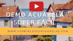 Video Demo Acuarela Fácil Castro Urdiales