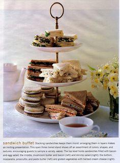 Sandwich buffet. Eudaemonius/flickr (from Cooking magazine?)