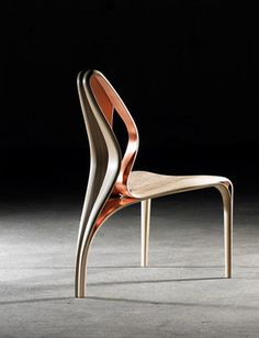 Enignum IV Copper Chair :: Joseph Walsh (I think you can see the love in his work)