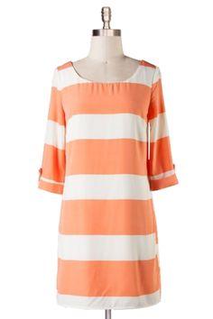Striped Pumpkin Tunic via Paizlee $43
