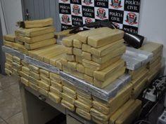 Polícia prende 12 pessoas e apreende 194 kg de maconha