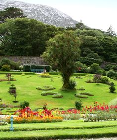 Kylemore Abbey Gardens Ireland