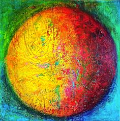 MACIC-COLORS WORlD, acrylic on canvas, 80 x 80 cm, 2019, colorfull abstract art by Eva Tikova, HAPPY COLORS COLLECTION Happy Colors, Abstract Art, Canvas, Artwork, Painting, Collection, Tela, Work Of Art, Painting Art
