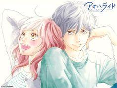 Home Decor Anime Ao Haru Ride/Blue Spring Ride Futaba Yoshioka Kou Mabuchi Poster wall Scroll X Inches Futaba Y Kou, Futaba Yoshioka, Manga Anime, Manga Art, Ao Haru Ride Anime, Anime Love, Top 10 Romance Anime, Romance Manga, Tanaka Kou