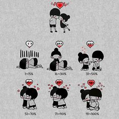 More memes, funny videos and pics at Cute Couple Poses, Cute Couple Art, Cute Love Pictures, Cute Love Gif, Kirigami, Valentines Day Drawing, Love Wallpapers Romantic, Pretty Wallpapers, Love Cartoon Couple