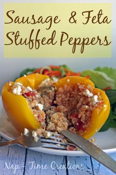sausage stuffed peppers1