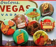 Vintage Vegas Pins