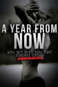 A year from now