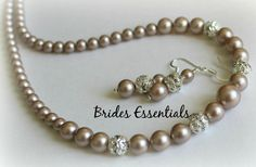 Wedding+Jewelry+Set+Bridal+Necklace+Earrings+by+BridesEssentials