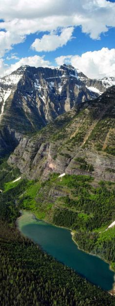 The Trail of the Cedars can take you to the Avalanche Lake in Glacier National Park, Montana | glaciermt.com