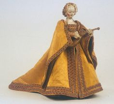 Doll or puppet, 16th century Spain, unknown source