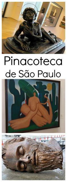 Pinacoteca de São Paulo - São Paulo - Brasil : A Pinacoteca de São Paulo é o dos mais antigo museu da cidade e um dos mais importantes do Brasil. Guarda um impressionante acervo de arte brasileira. É uma atração imperdível em São Paulo.