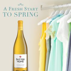 Spruce up your closet for spring and awaken some fresh style with these clever tips (including some Sutter Home wine!)