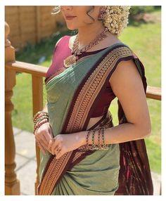 Cotton Saree Blouse Designs, Half Saree Designs, Fancy Blouse Designs, Indian Blouse Designs, Latest Saree Blouse Designs, Latest Silk Sarees, Soft Silk Sarees, Indian Fashion Dresses, Indian Outfits