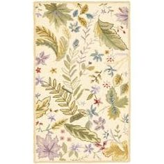Shop for Safavieh Hand-hooked Chelsea Gardens Ivory/ Multi Wool Rug (2'9 x 4'9). Get free shipping at Overstock.com - Your Online Home Decor Outlet Store! Get 5% in rewards with Club O! - 13497116