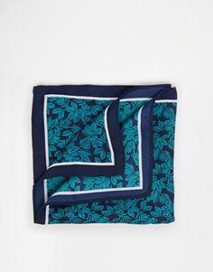 ASOS Pocket Square With Leaf Print