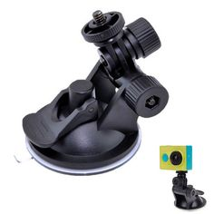 Driving Recorder Car Suction Cup For Gopro Mount Tripod Car Sucker Record Holder For Xiaomi Yi 4K 2 Action Camera Accessories
