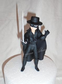 ZORRO - Cake by Diana Aluas
