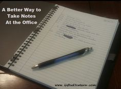 If you use a planner, find out how to take better notes in a notebook that supplements your day planner. Carpe Diem Planner, Good Notes, Note Taking, Day Planners, Planner Organization, Notebook, How To Plan, Paper, Pjs