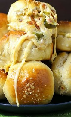 Jalapeño Popper Cheesy Pretzel Bombs Recipe