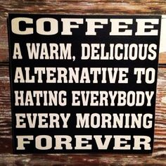coffee is good for us