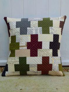 Oakshot Lipari Pillow by Laura @ Needles, Pins and Baking Tins, via Flickr