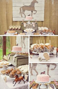 Horse Party Inspiration - Birthday Party Ideas & Themes