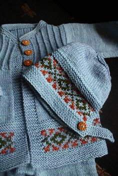 Ravelry: thewittyknitter's Vintage Baby Set
