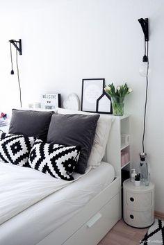 Interior-Skandinavisch-Kartell-Componibili-Deko-Schlafzimmer