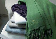 Loro Piana Cashmere Throws now available exclusively at RIB & RHEIN