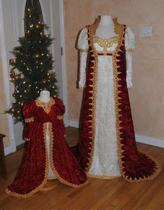 Josephine Empire Fantasy Gowns Custom