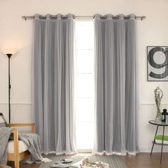 Gregg Blackout Thermal Curtain Panels