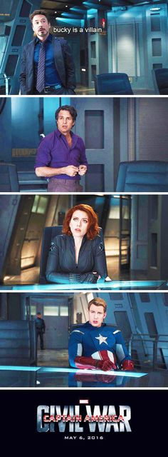 Captain America: Civil War... why they're really fighting OMG those faces are PRICELESS