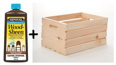 Small storage ideas for your apartment with wood crates