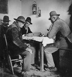 Austrian farmers, 1930s. Photographer: Rudolf Koppitz, Austria.