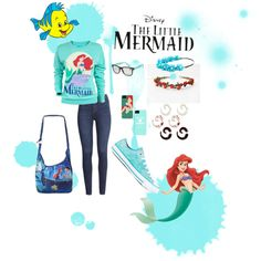 """""""Little mermaid"""" by monty801 on Polyvore"""