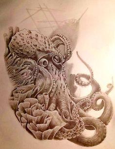 Top 60 Stunning Octopus Tattoo Designs
