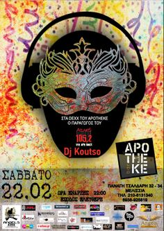 Rockopolis GR: DJ KOUTSO on Decks @ Apotheke Bar στις 22 Φεβρουαρ...